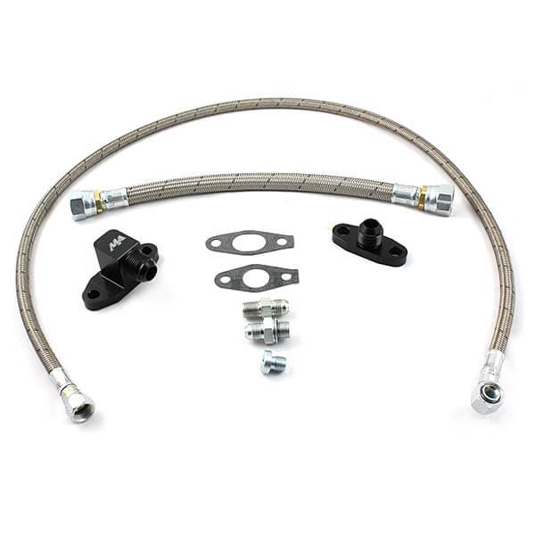 Merchant Automotive S400 Oil Line Kit - Duramax 2001-2010