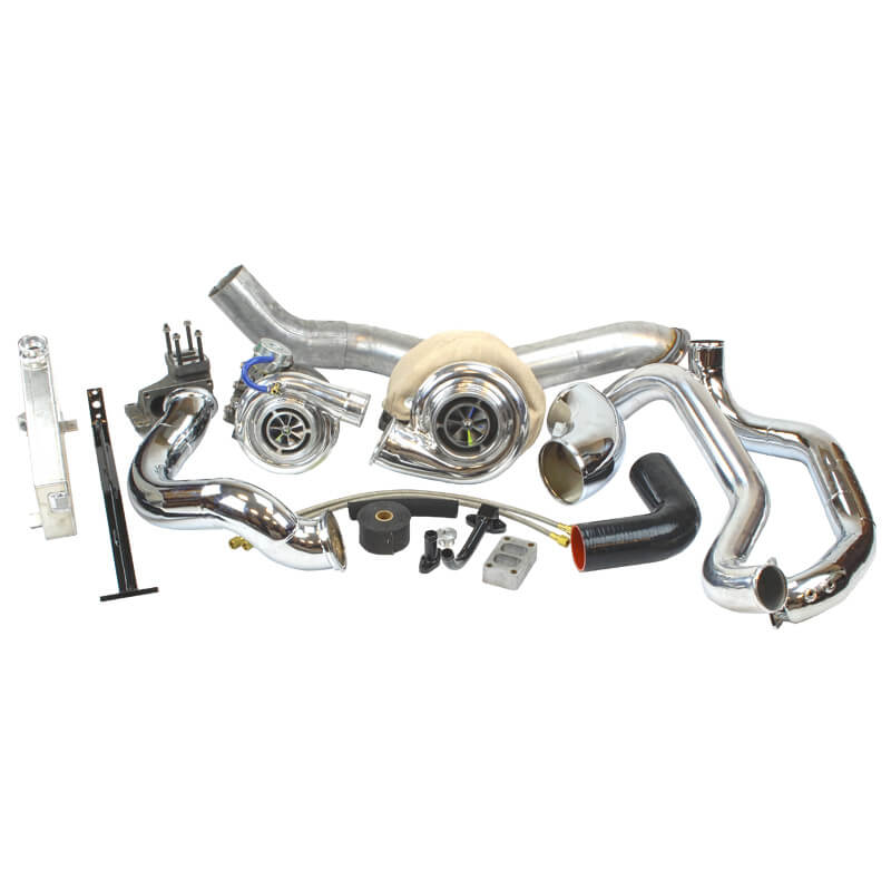 Industrial Towing Compound Turbo Kit