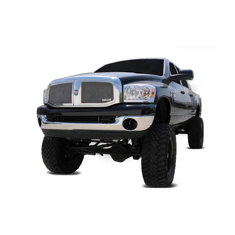 T-Rex Upper Class Series Polished 2-Piece Mesh Grille
