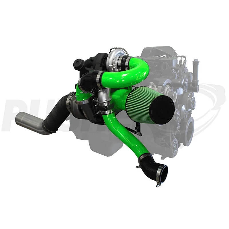 Pusher Low Mount Compound Turbo System