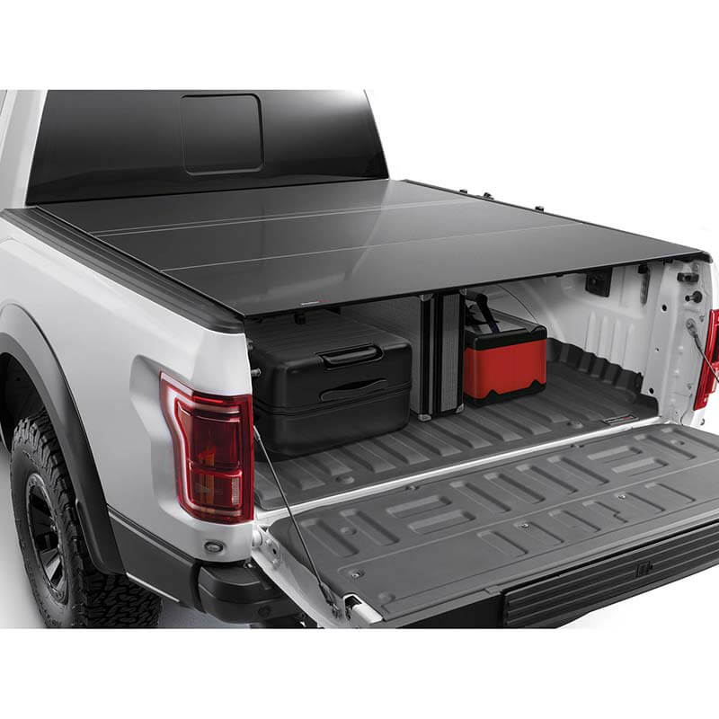 Weathertech Alloycover Hard Truck Bed Cover Ford Super Duty 2017 2020 6 9 Ft Bed