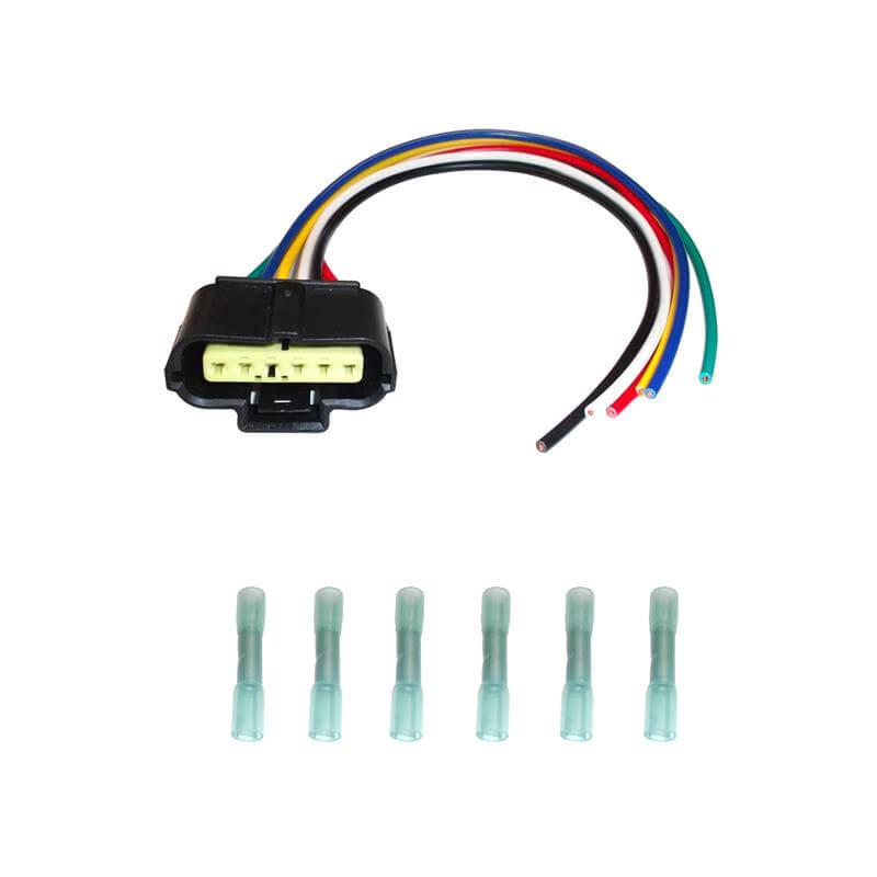 6 0 Powerstroke Mass Air Flow Sensor Connector Bostech Wh02974