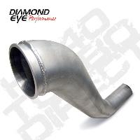 Diamond Eye Aluminized HX40 Down Pipe - 5.9 Cummins 1998.5-2002