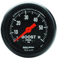 Autometer Z Series 60 Psi Boost Gauge