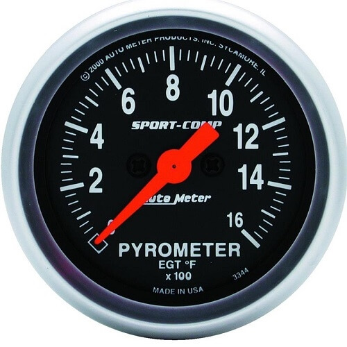 Sport Comp 1600 Degree Pryometer