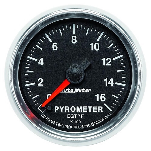 Autometer GS 1600 Degree Pyrometer Gauge