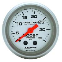 Autometer Ultra Lite 35 PSI Boost Gauge