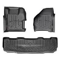 Weathertech Digital Fit Floor Liners (Crew Cab w/Shifter) - 7.3|6.0 Powerstroke 1999-2007