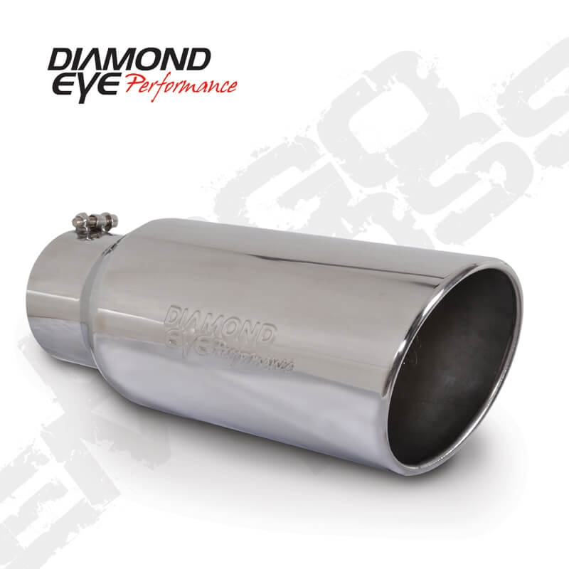 Diamond Eye Manufacturing Exhaust Clamp Performance Diesel Exhaust Part-5In....