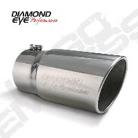 Diamond Eye 6 Inch Angle Cut Tip - 5 Inch Inlet