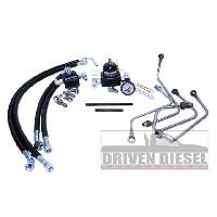 Driven Diesel Fuel Bowl Delete Regulated Return - 6.0 Powerstroke 2003-2007