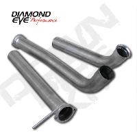 Diamond Eye 3.5 Inch Down Pipe & Cat Delete Pipe - 6.0 Powerstroke 2003-2007