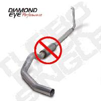 OBS Diamond Eye 4 Inch Aluminized Exhaust - 7.3 Powerstroke 1994-1997