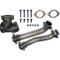 FFD Bellowed Up Pipes - 7.3 Powerstroke 1999.5-2003