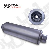 Diamond Eye 4 Inch Aluminized Muffler