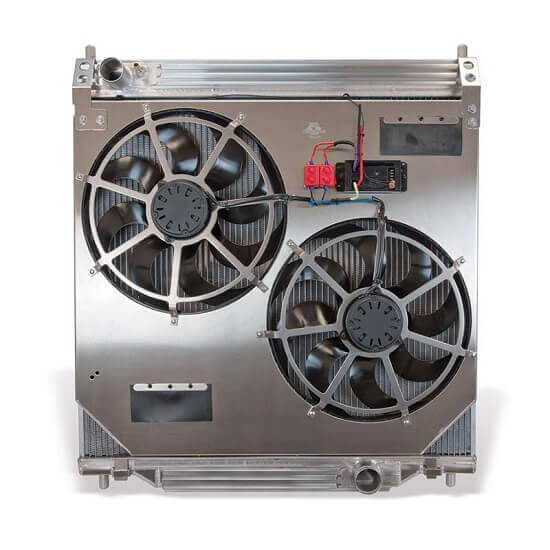 Flex-A-Lite Aluminum Radiator with Fan Kit