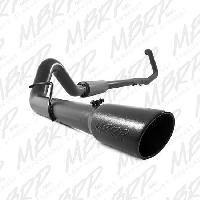 MBRP Exhaust 4 Inch Black TB with Muffler - 7.3 Powerstroke 1999-2003