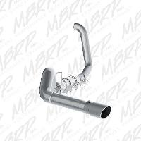 MBRP Exhaust 5 Inch Aluminized TB with Muffler/Tip - 7.3 Powerstroke 1999-2003