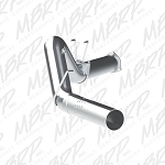 MBRP 5 Inch Filter Back Aluminized Exhaust