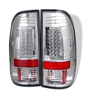 Spyder Chrome LED Tail Lights - 7.3|6.0 Powerstroke 1999-2007