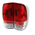 Spyder Red LED Tail Lights - 7.3|6.0 Powerstroke 1999-2007
