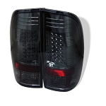 Spyder Smoked LED Tail Lights - 7.3|6.0 Powerstroke 1999-2007