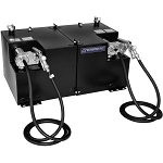 Transfer Flow 50/50 Gallon Split Refueling Tank System w/ Diesel Pump
