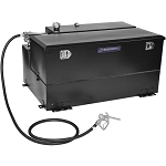 Transfer Flow 100 Gallon L-Shaped Refueling Tank & Toolbox Combo w/ Diesel Pump