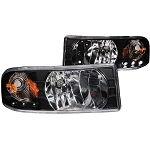 Anzo Crystal Black Headlight