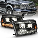 Anzo Black Switchback Projector Headlights