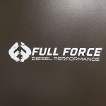 Full Force Diesel Sticker - Large