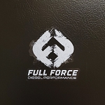 Full Force Diesel Sticker - Small
