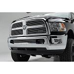 T-Rex Billet Series Polished Bumper 1-Piece Grille Insert