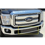T-Rex Billet Series Polished Bumper 1-Piece Grille Bolt-On