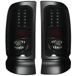 Recon Smoked LED Tail Lights - Ram 1994-2002