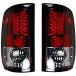 Recon Red LED Tail Lights - Ram 1994-2002