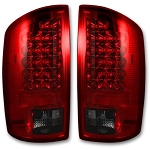 Recon Dark Red Smoked LED Tail Lights