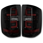 Recon Smoked OLED Tail Lights - LML|L5P Duramax 2014-2018