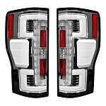 Recon Dual U-Bar Clear Lens OLED Tail Lights - Super Duty 2017-2019