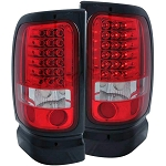 Anzo Red LED Taillights - Ram 1994-2002