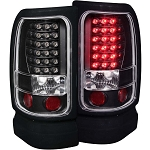 Anzo Black LED Taillights - Ram 1994-2002