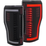 Anzo Black LED Tail Lights - Super Duty  2017-2019