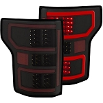 Anzo Black LED Tail Lights - F-150 2018-2019