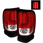 Spyder Red|Clear LED Tail Lights - Ram 1994-2002