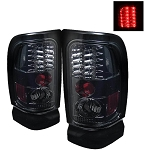 Spyder Smoked LED Tail Lights - Ram 1994-2002