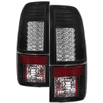 Spyder Black LED Tail Lights