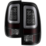 Spyder Black Smoked Version 3 LED Light Bar Tail Lights