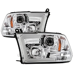 Spyder Chrome Version Switch Back Projector Headlights - Ram 2500|3500 2010-2018