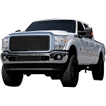 T-Rex Upper Class Series Black Mesh 1-Piece Grille Insert