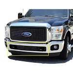T-Rex Upper Class Series Black Mesh Bumper 1-Piece Grille Bolt-On